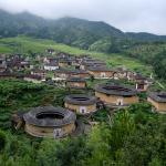 i tipici Tulou del Fujian